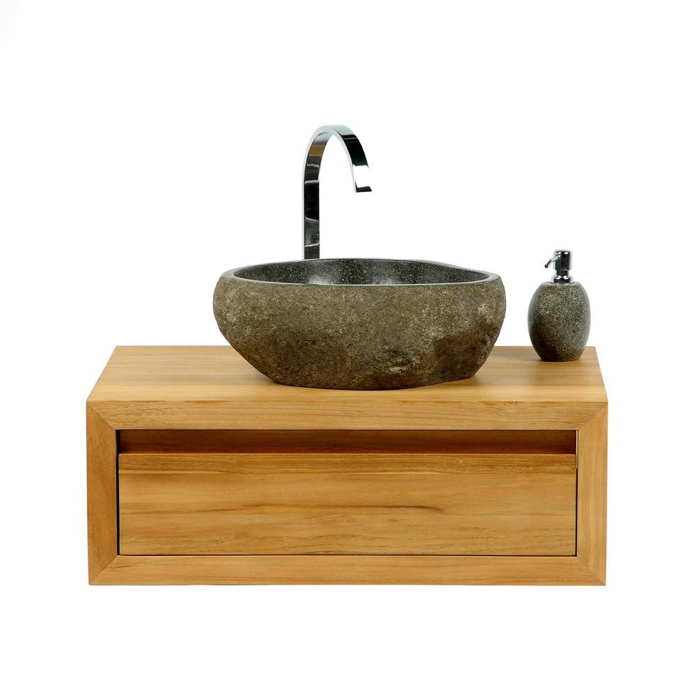 naturstein waschbecken 40 cm waschschale stein poliert. Black Bedroom Furniture Sets. Home Design Ideas