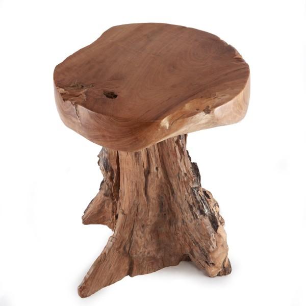 Beistelltisch Holz SchOner Wohnen ~ beistelltisch geschliffen name teak holz hocker beistelltisch wohnen