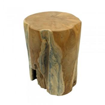 teakholz hocker elefantenfu geschliffen. Black Bedroom Furniture Sets. Home Design Ideas