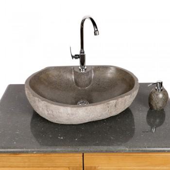 naturstein waschbecken 60 cm gerade r ckwand. Black Bedroom Furniture Sets. Home Design Ideas