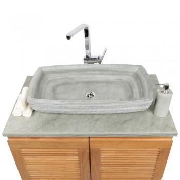 sandstein waschbecken f r waschtisch von wohnfreuden. Black Bedroom Furniture Sets. Home Design Ideas