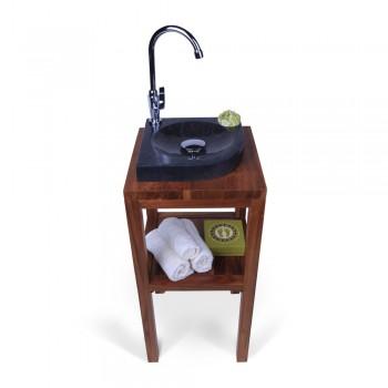 marmor waschbecken zen 50 cm creme. Black Bedroom Furniture Sets. Home Design Ideas