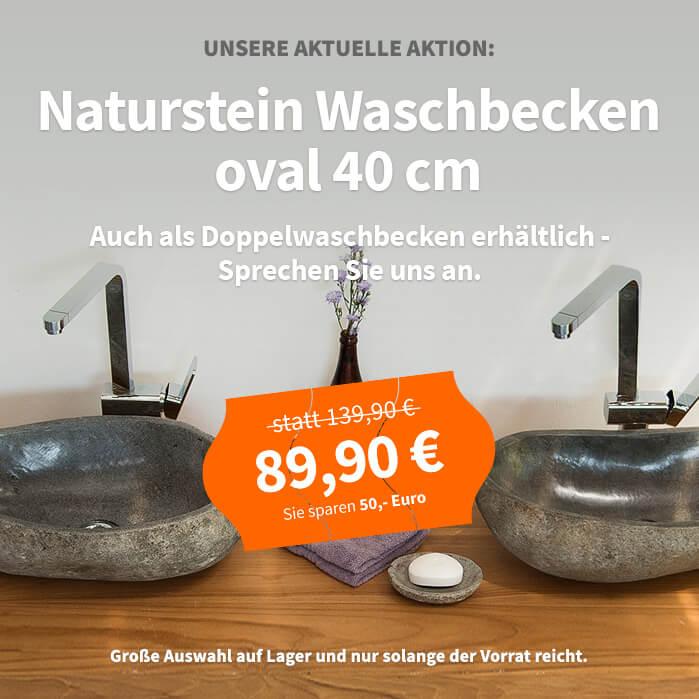 Waschbecken Aus Stein Naturstein Steinbecken 30 40 50