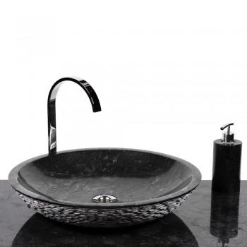 wohnfreuden marmor aufsatz waschbecken waschschale. Black Bedroom Furniture Sets. Home Design Ideas