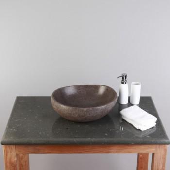 marmor waschtisch platte creme 80x52x3cm. Black Bedroom Furniture Sets. Home Design Ideas