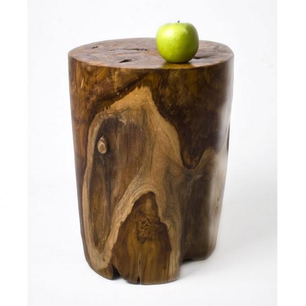 teakholz hocker elefantenfu lasiert. Black Bedroom Furniture Sets. Home Design Ideas