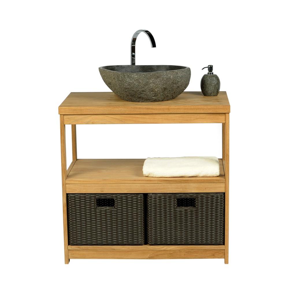 naturstein waschbecken 40 cm innen poliert. Black Bedroom Furniture Sets. Home Design Ideas
