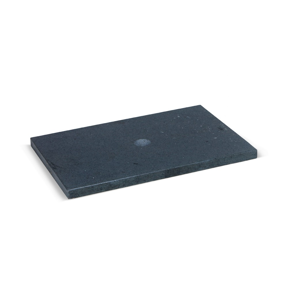 flu stein waschtisch platte zen anthrazit 60x40x2 5cm. Black Bedroom Furniture Sets. Home Design Ideas