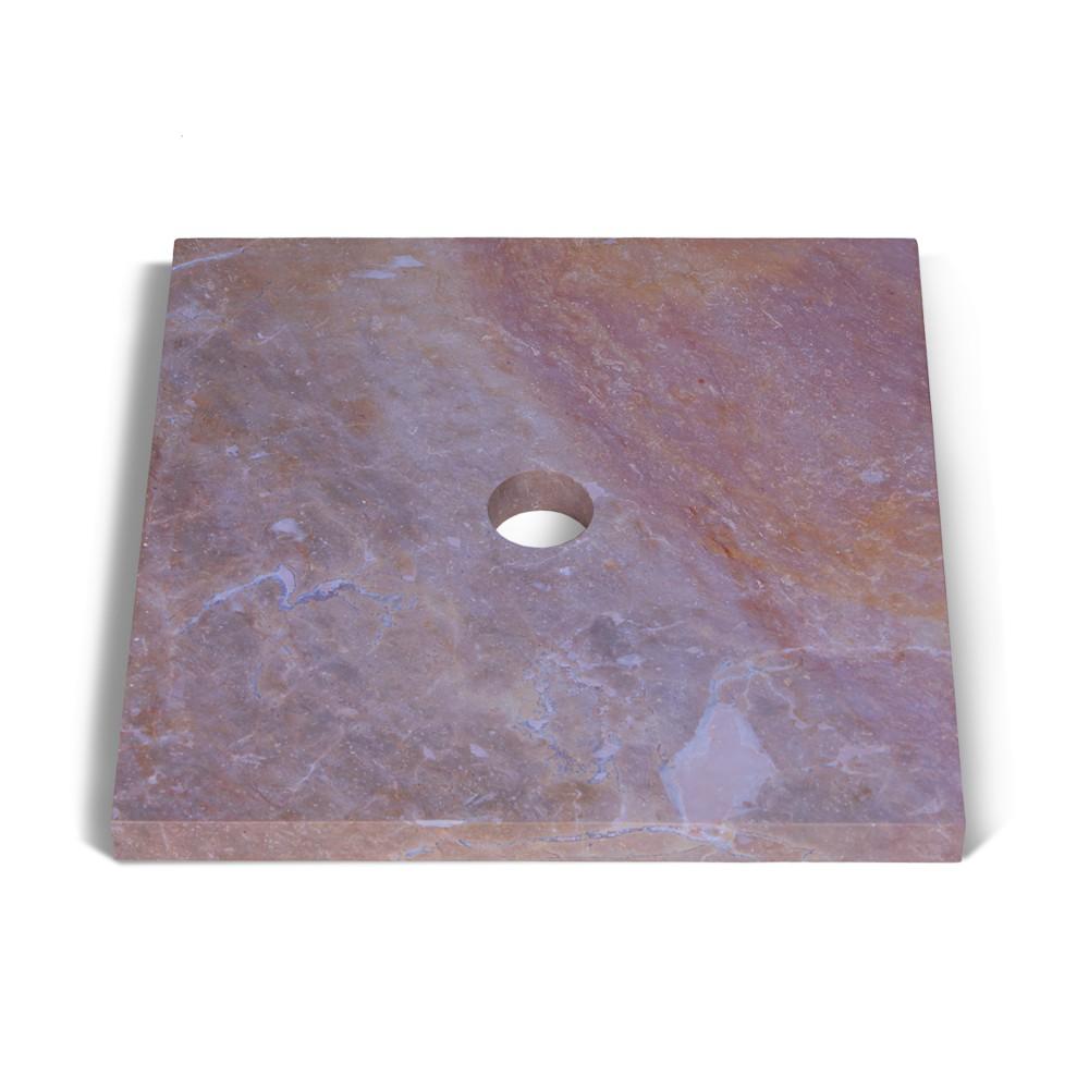 marmor waschtisch platte smini rot 40x40x3cm bei. Black Bedroom Furniture Sets. Home Design Ideas