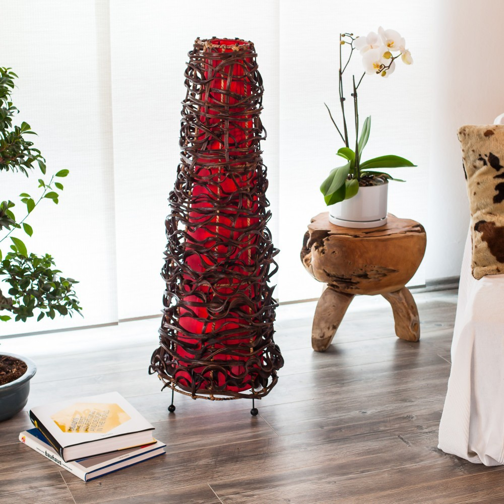 rattan stehlampe preisvergleich die besten angebote. Black Bedroom Furniture Sets. Home Design Ideas