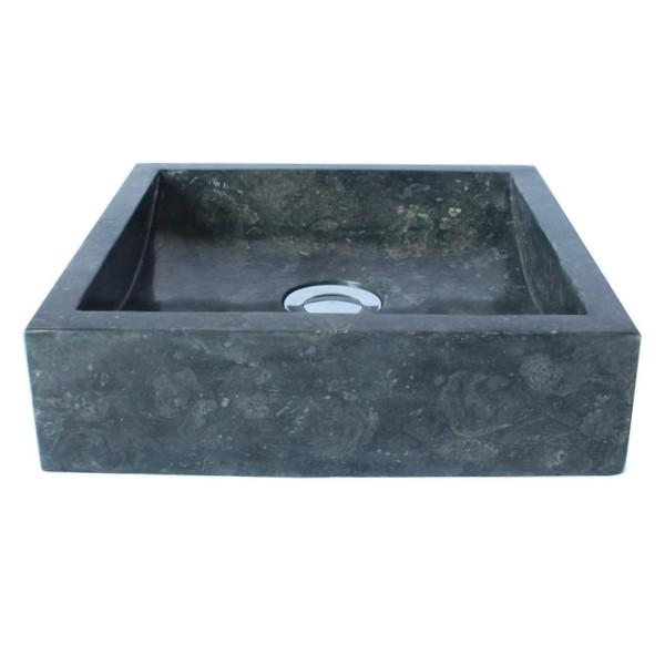 marmor waschbecken mini perahu 30 cm schwarz bei. Black Bedroom Furniture Sets. Home Design Ideas
